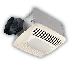 Bathroom Exhaust  Light on Ventilation Fans Com   Broan Bathroom Exhaust Ventilation Fans